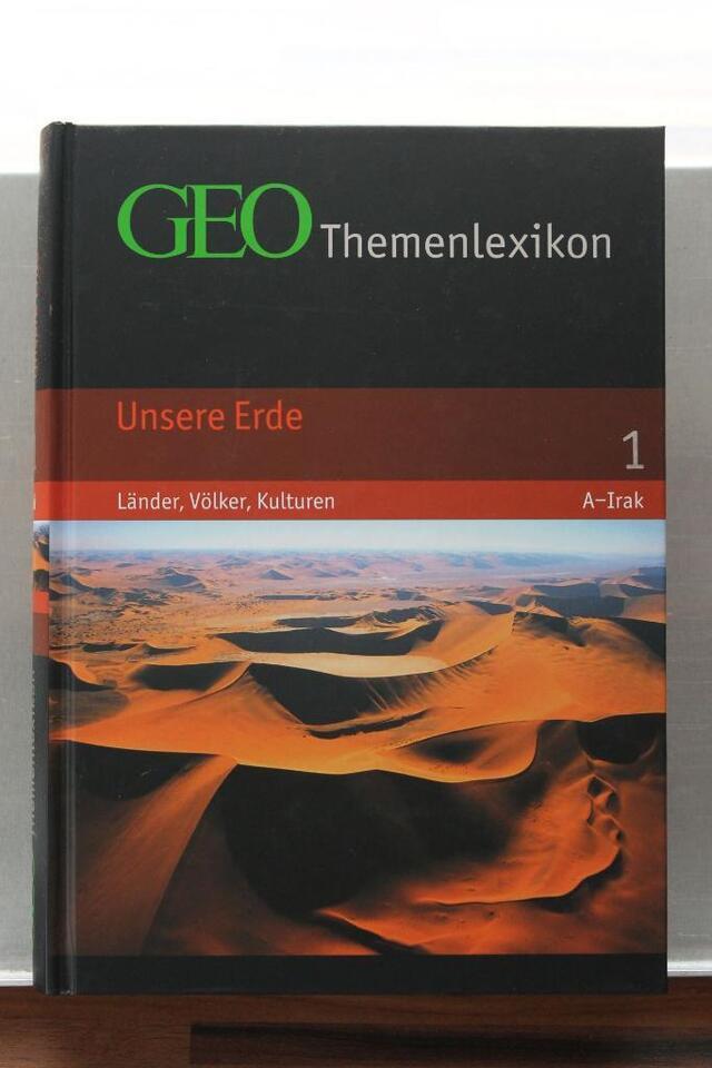 GEO Themenlexikon 01. Unsere Erde in Gudensberg