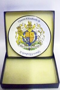Queen Elizabeth II Silver Jubilee PIN DISH- Wood & Sons - BOXED(Design 1)