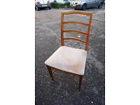 4 Stylish Retro McIntosh Chairs FREE DELIVERY CENTRAL EDINBURGH