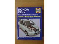 Honda CR-V Haynes Manual 2002 - 2006