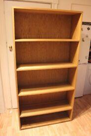 Solid Oak Bookcase / Shelving