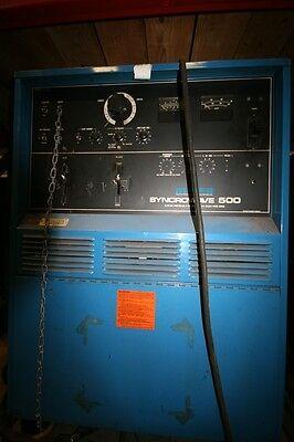 9344 Miller Syncrowave 500 Gas Tungsten Arc Welder