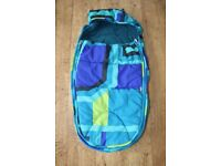 Mamas and Papas All weather pram pushchair footmuff - Delphic Blue CAN POST