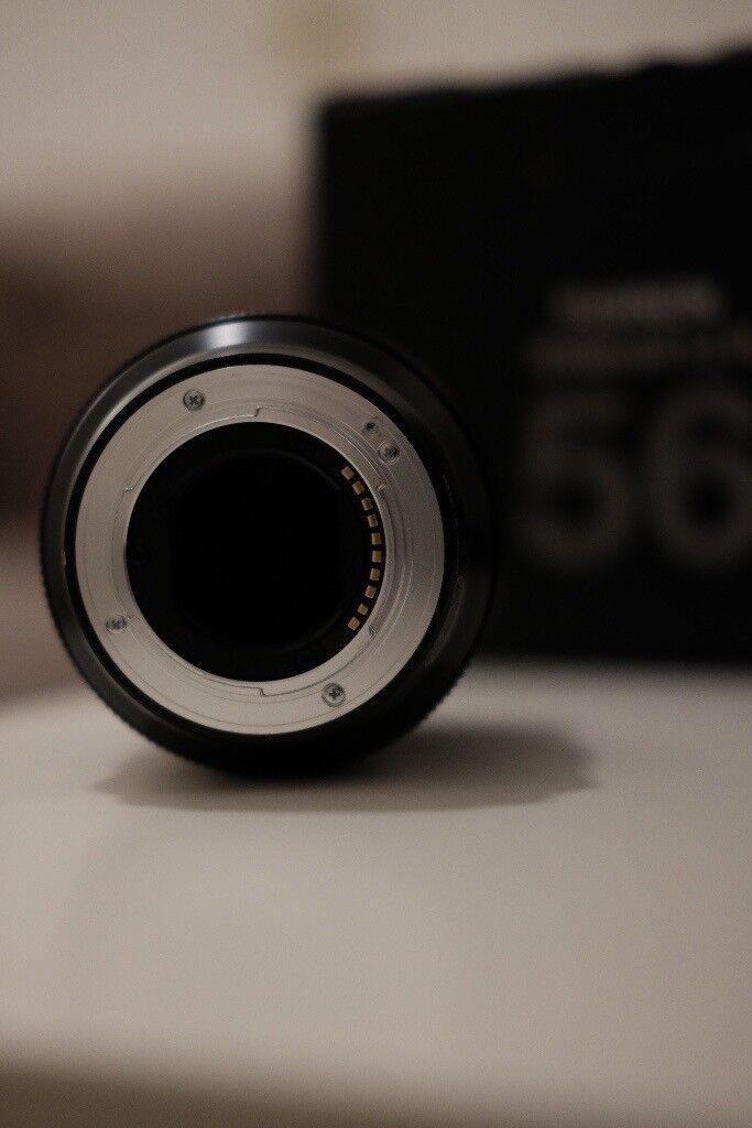 Fujifilm 56mm F1.2 lens