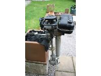 BRITISH SEAGULL SILVER CENTURY PLUS 5HP LONGSHAFT OUTBOARD