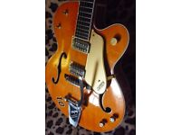 Gretsch 6120-60, with the right upgrades