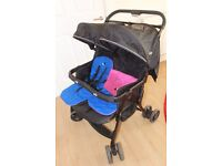 Joie Twin Double Stroller Pushchair Pram