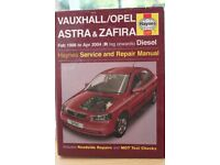 Vauxhall - Opel Astra & Zafira Manual