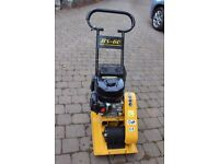 Heavy Duty 4 stroke 5.5hp HS - 60 Petrol Compactor Plate - as new condition