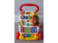 VTech First Steps Baby Walker - Mint Condition