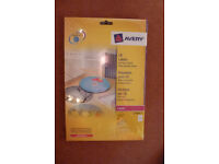 Avery L7760 CD Labels Pack of 50 Labels Glossy Ø 117 mm 25 Sheets