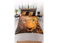 Double Leopard Duvet Set