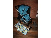 Blue iCandy Cherry pushchair stroller *can post*