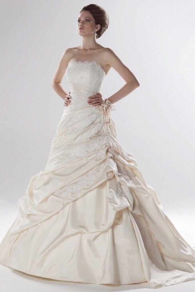 Ellis Bridal Wedding Dress 11032 Size 8