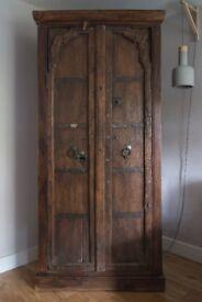 Tall Mango wood Cupboard