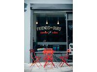 Kitchen Porter - full time job - Brunch Cafe in Hoxton - daytime hours