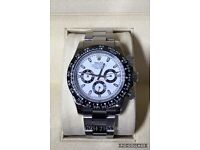 Tolex Daytona cosmograph chronograph luxury automatic watch brand new & Swiss WAVE BOX ceramic bezel