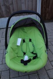 Spacious and comfortable. For big babies. Can be used for over 1 year old.