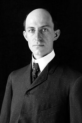New 5x7 Photo: Aviation Flight Pioneer Wilbur Wright of the Wright Brothers