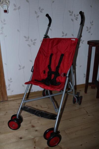 buggy go s von hauck in rot in th ringen erfurt. Black Bedroom Furniture Sets. Home Design Ideas