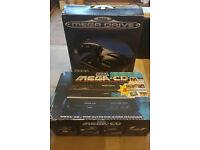 Mega Drive 1 + Mega CD 1 + Original games