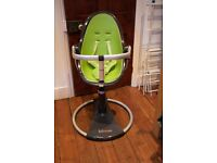 Classic Bloom high chair in green.