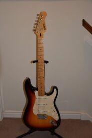 Enigma Strat style guitar