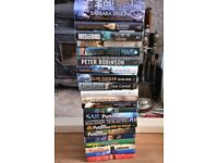 Collection Job Lot Hardback Books, 2x Signed Issues, Crime Thriller etc.