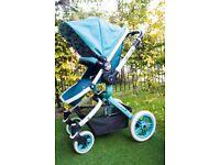 Cosatto ooba push chair carry coat pram stroller