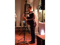 Acoustic act and DJ, Lee Gough