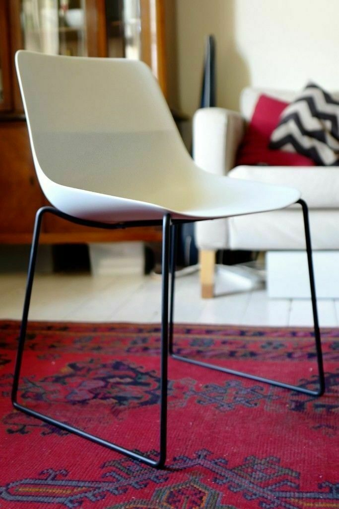 1 of 2 Brunner Crona Light White & Black Chair - Modern Home Office Dining  - Eames Allermuir Vitra   in Manor House, London   Gumtree