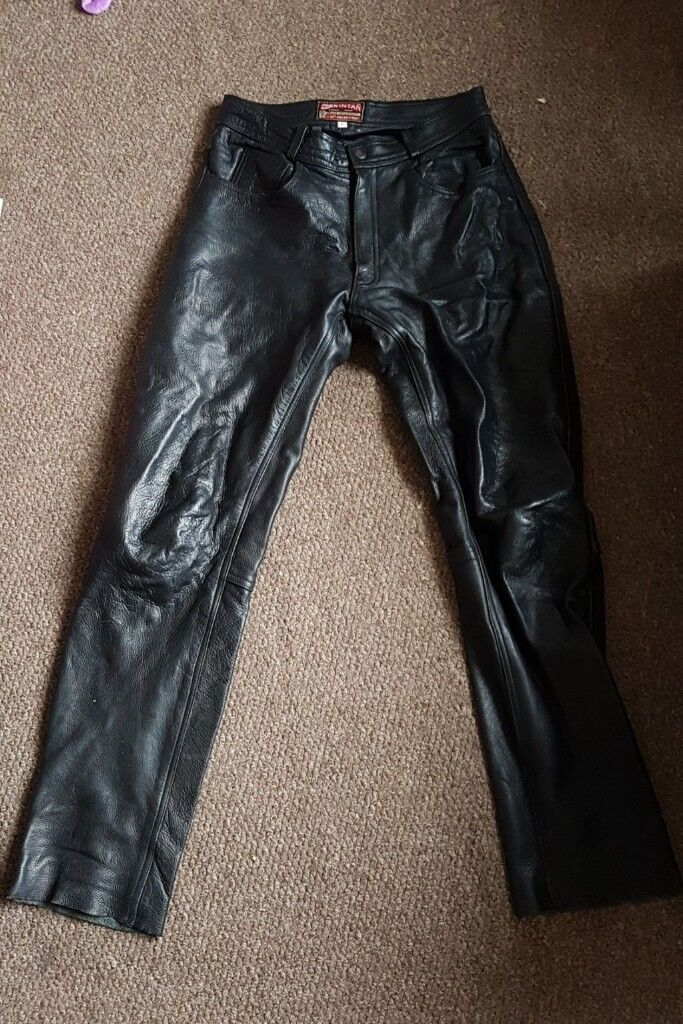 best loved sale online outlet Skintan motorcycle leather trousers 30