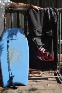 Manta Sabrex bodyboard plus Balin Cover