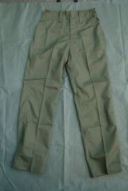 British Army PARA P-Coy 'Lightweight' Olive Green Trousers (medium long)