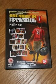 ONE NIGHT IN ISTANBUL DVD ABOUT LIVERPOOL FC'S FAMOUS CHAMPIONS LEAGUE VICTORY ONLY £2
