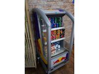 Commercial Drink open fridge