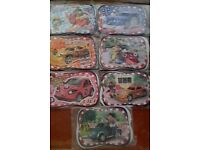 Boy's Roary Racing Car Jigsaws x 14 EXCELLENT CONDITION REDUCED £4