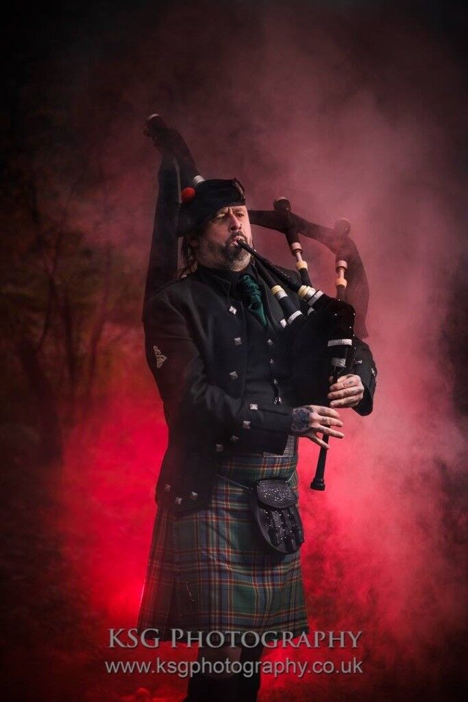 THE GLASTONBURY PIPER..Somerset Wedding Piper, Bagpipes,