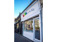 Voluntary part time position in children's boutique