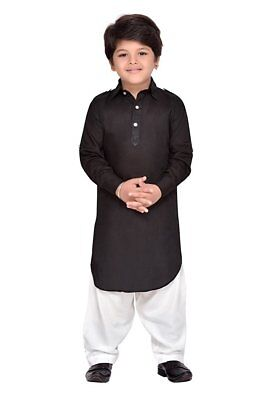 Traditional Indian Boys Pathani Suit for Kids Ethnic Wear Kurta Pajama](Suits For Children Boys)