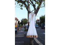 Elegant Wedding Dress - Frock Style