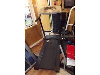 V fit treadmill £20
