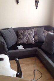 Corner large sofa