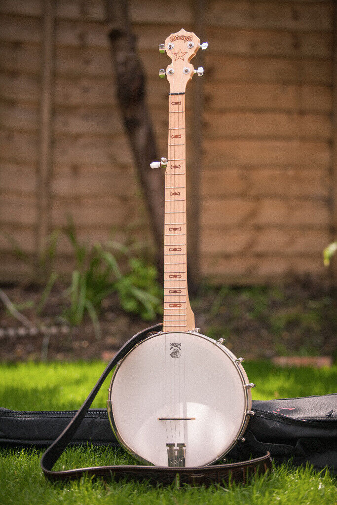 Deering Goodtime Banjo with armrest and leather strap | in Alwoodley, West  Yorkshire | Gumtree