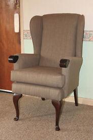 Canterbury Orthopedic Armchair with waterproof fabric - Brand New