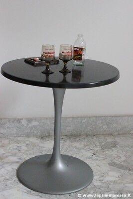 TAVOLO ROTONDO DI MODERNARIATO '80 DA BAR  VINTAGE WERZALIT BISTROT ROUND TABLE