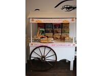 Crisp sandwich cart for hire