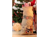350 x Toy Storage / Santa Sacks's. Hessian Sacks. Wholesale opportunity. Christmas Markets. Toy Shop