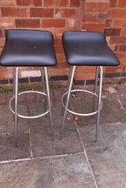 Two Bar Stools in good condition