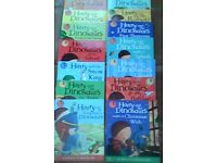 Harry and dinosaurs books x14